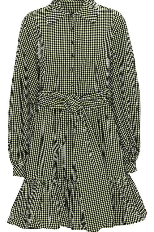 CUSTOMMADE Tex Dress Sulphur spring
