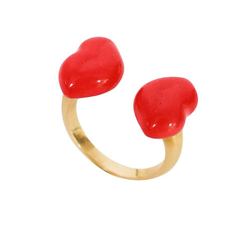 Adjustable ring Kiss Kiss Face to Face NACH Bijoux