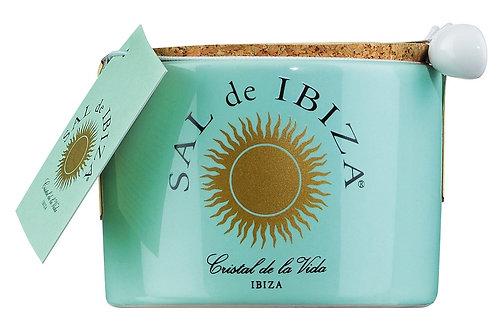 Fleur de Sel SAL DE IBIZA, SPANIEN  im Steintopf