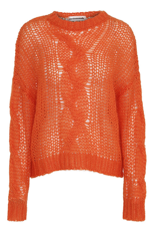 Custommade Annina Knit Red orange