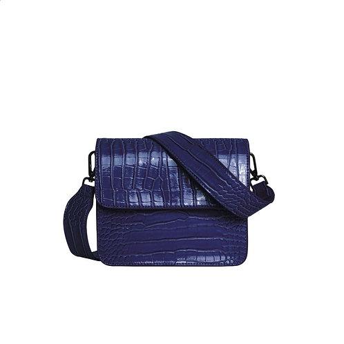 Caymann Shiny Strap Bag midnight blue