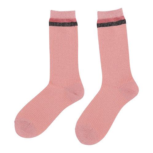 Custommade Anis Socks salmon rose