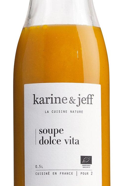 Soupe Dolce Vita, Bio KARINE & JEFF, FRANKREICH  Pürierte Gemüsesuppe