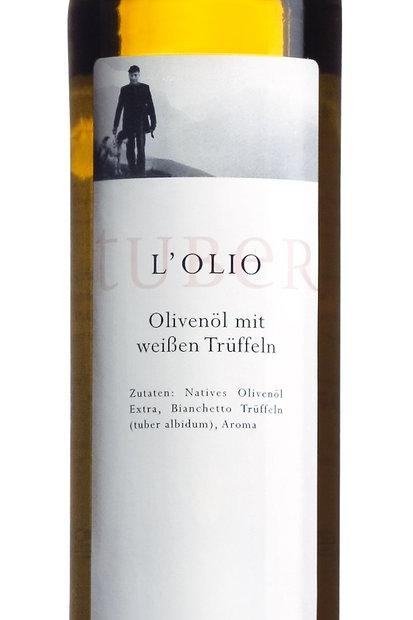 Trüffelöl mit weißen Trüffeln VIANI & CO., ITALIEN  Mit Stücken von weißen Bianc