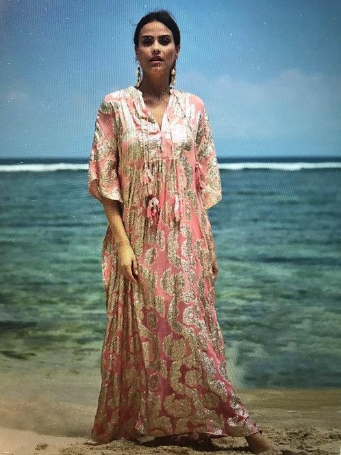 MISS JUNE Kaftan Bodhi pink