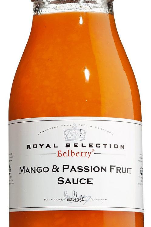Mango & Passion Sauce BELBERRY, BELGIEN  Mango & Maracuja Fruchtsauce