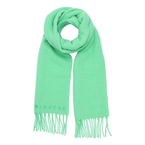 Blanche Oceano Scarf jade lime