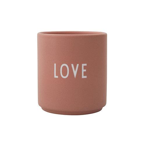 Design Letters Becher Love