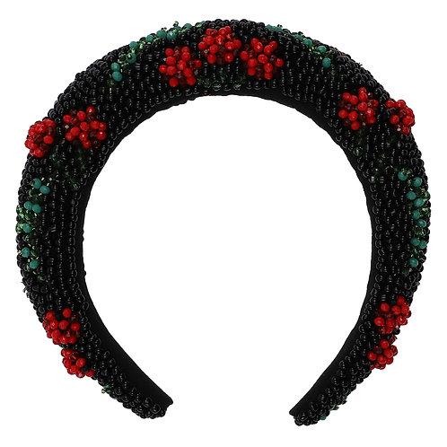 Custommade Ada Cherry Hairband  poppy red