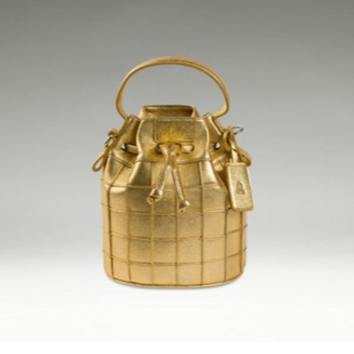 Bolinder Stockholm Bucket Bag Mini gold