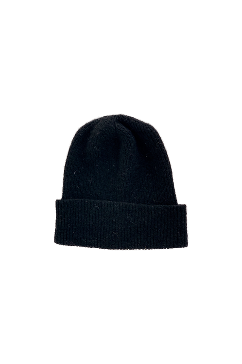 CAROL knitted hat black
