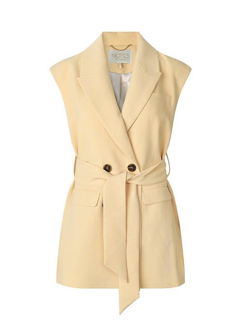 NOTES Du Nord Tiffany Vest soft lemon