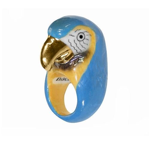 NACH Gold&Blue Macau Porcelain Ring medium
