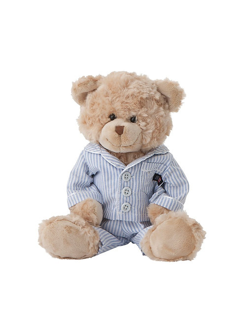 Lexington LEXINGTON TEDDY BEAR IN BLUE/WHITE PJ