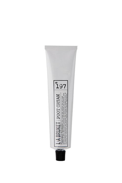 L:A Bruket 197 Foot Cream, Peppermint/Patchouli, 70 ml