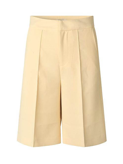 NOTES Du Nord Tiffany Shorts soft lemon