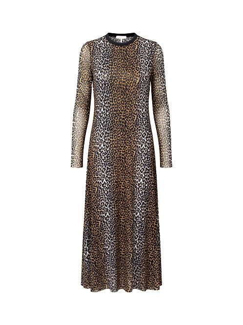 NOTES Du Nord Tara Dress leopard