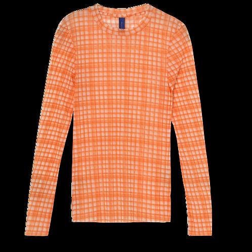 Toby Blouse neon orange