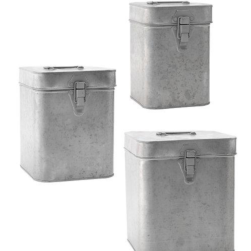 QUADRATIC BOXES W/ LID