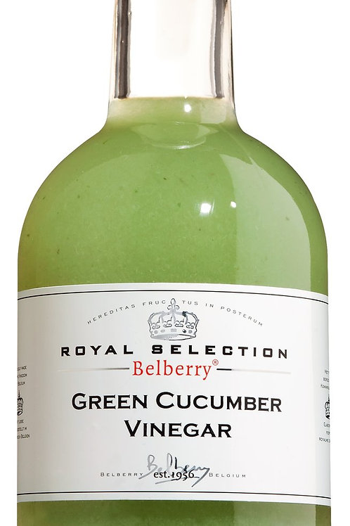 Green Cucumber Vinegar BELBERRY, BELGIEN  Gurkenessig