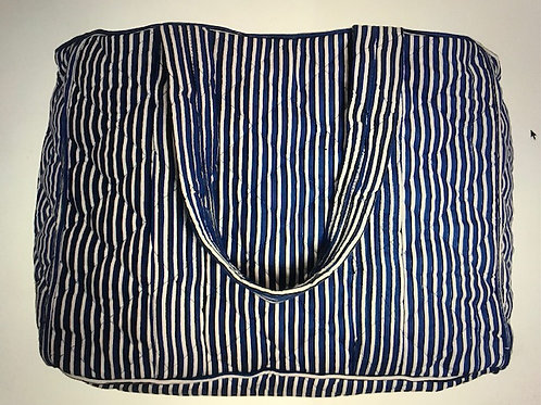 Ellies and Ivy Smilla XL Totebag Stripe