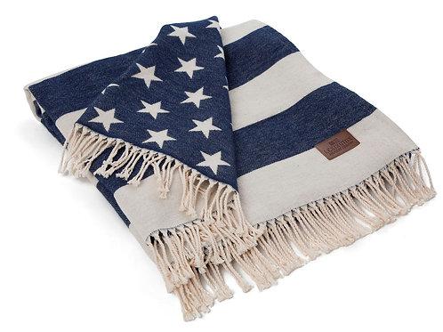 Lexington ICONS FLAG THROW WHITE/NAVY