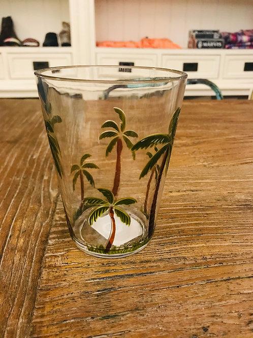 Melamin Trinkglas Palmen