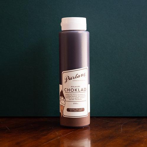 Pärlans Konfektyr Stockholm Karamellsosse Schokolade