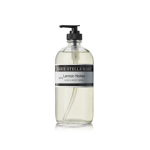 MARIE-STELLA-MARIS Hand & Body Wash  No.74 Lemon Notes 470 ml