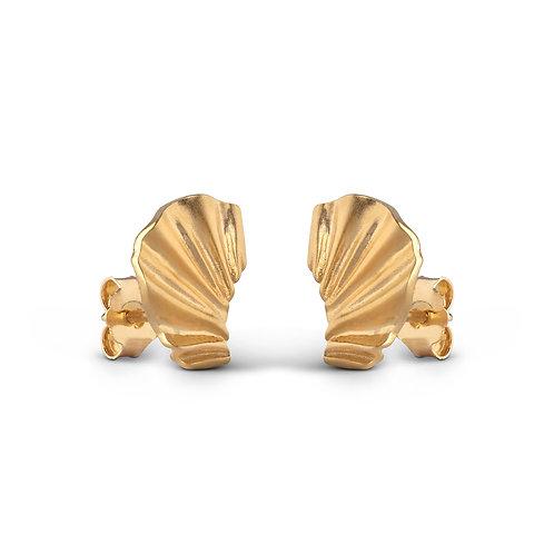 Enamel Mini Wave Earring