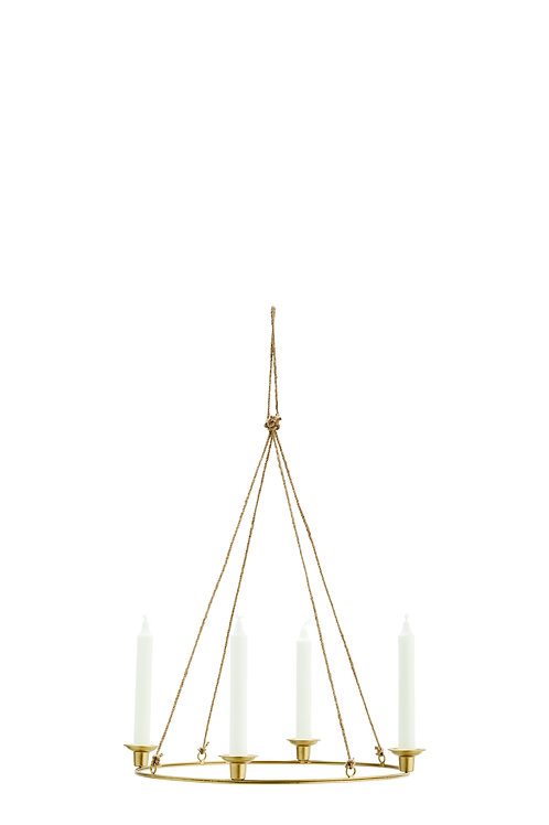 ROUND HANGING CANDLE HOLDER