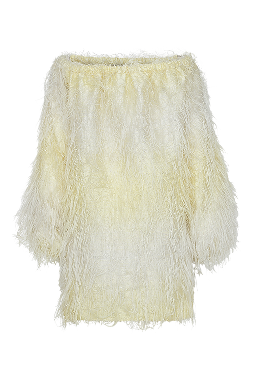 ROTATE Gloria Yellow Dress