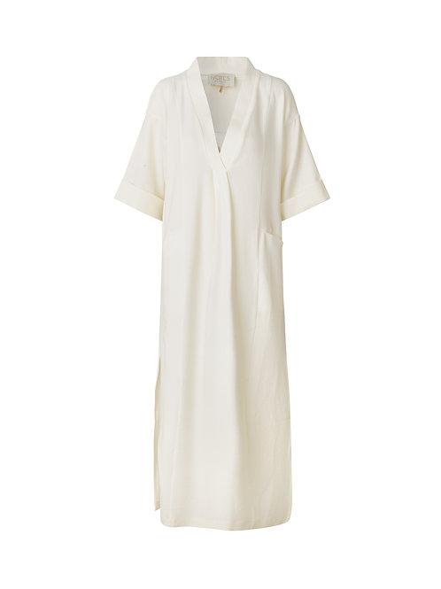 NOTES Du Nord Temple Dress creme