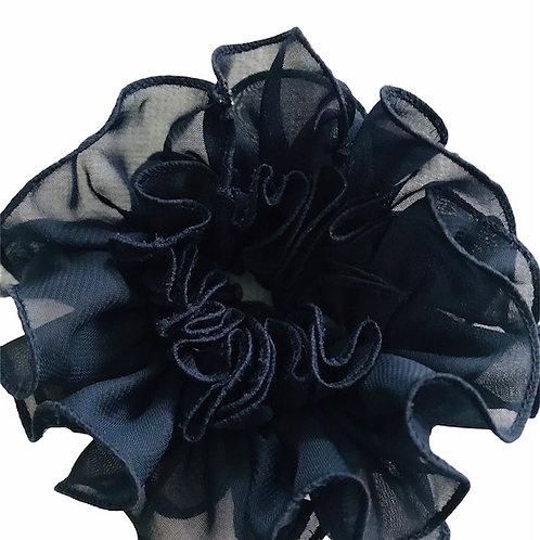Pico Haarrosette schwarz