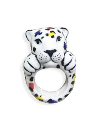 NACH Leopard Castelbajac Ring medium