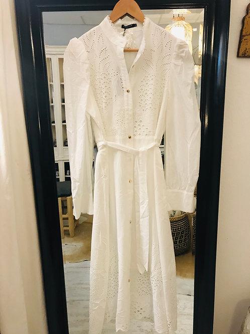 Kleid Lochmuster