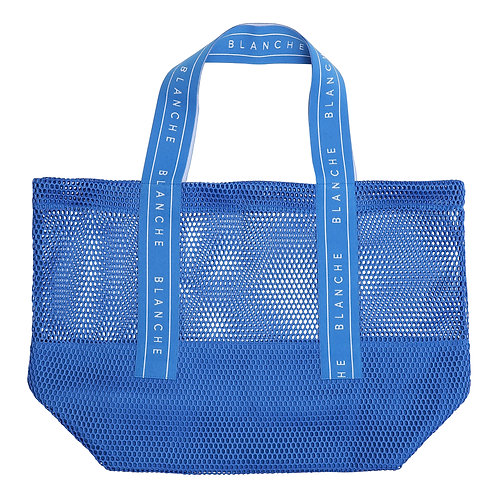 BLANCHE Tote Logo Bag blue