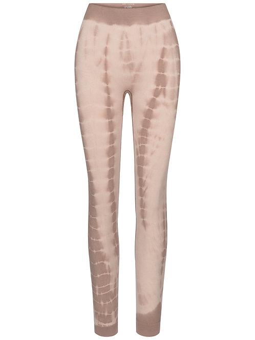 Gai+Lisva Lena Legging Coublestone with Taupe tie dye