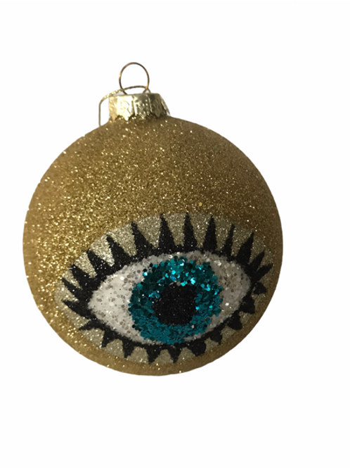 Cody Foster Glittered Eye Baumle Anhänger