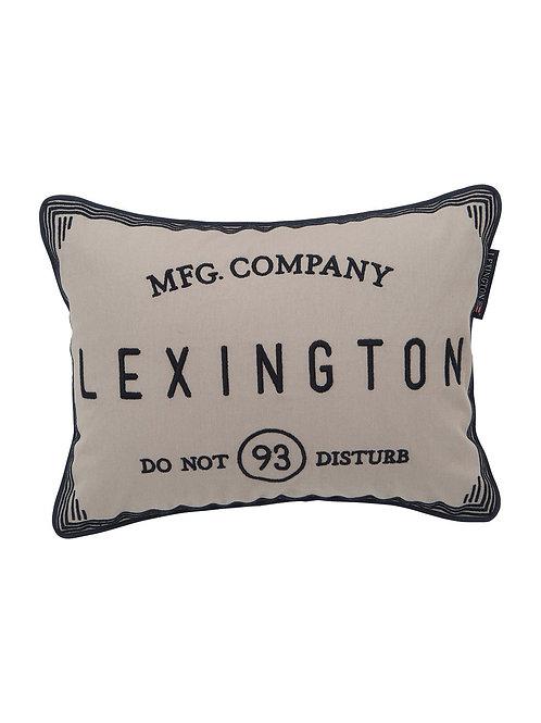 Lexington HOTEL DO NOT DISTURB SHAM, BEIGE
