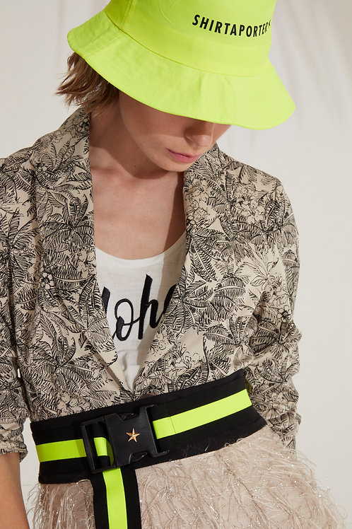 Shirtaporter Cap neon gelb