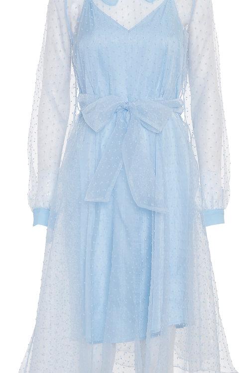 CUSTOMMADE Lidi Dress Cambray blue