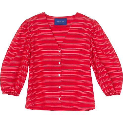 Sheila Blouse red