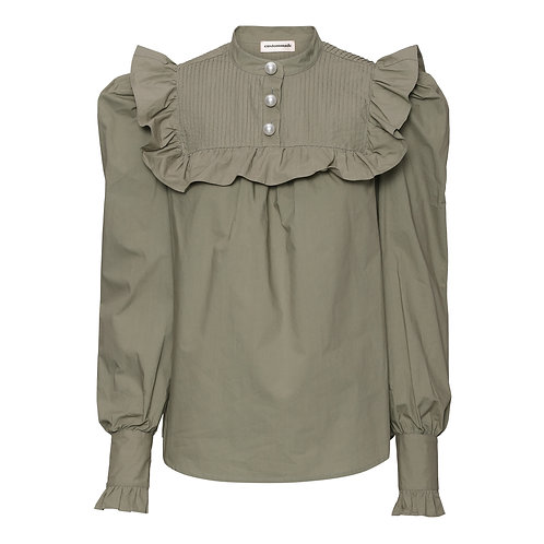 Custommade Misella Blouse mermaid green