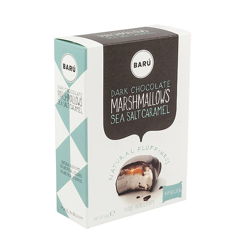 Barú Dark Choc.& Sea Salt Caramel Marshm. 4-pack