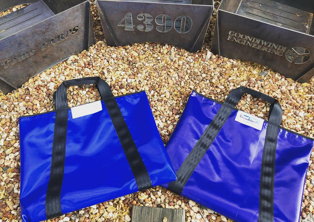 FLAT PACK FIREPITS WITH CARRY BAG 100% LOCALLY MADE