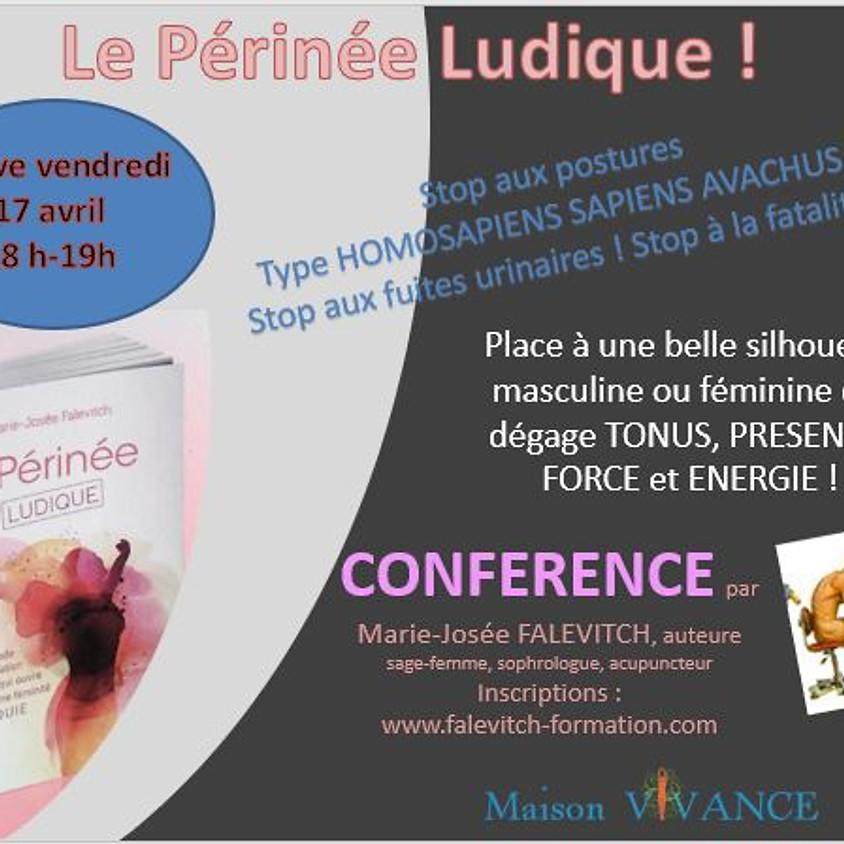Conférence en live LE PÉRINÉE LUDIQUE ! GRATUITE !