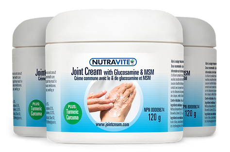 Nutravite Joint Cream with Glucosamine & MSM