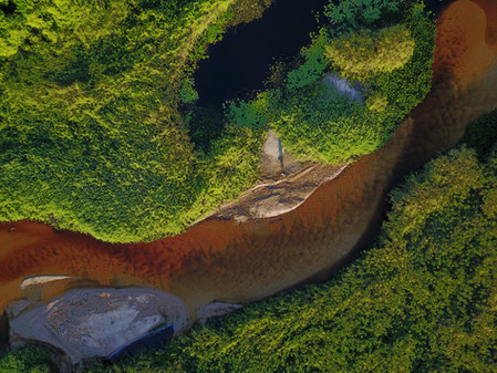 Fotografias de Drone / Mini Pantanal do Marimbus