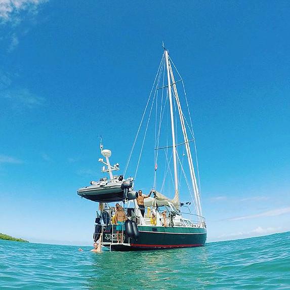 Sailig with Thorben